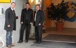 2011 Standort Infopoint Althofen mit Amtsleiter und Bürgermeister