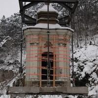 Umsetzen der Kapelle in Berndorf 2