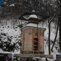 Umsetzen der Kapelle in Berndorf 3