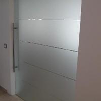 Glas Schiebetür (4)