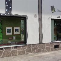 Schaufenster Innenhof