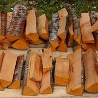 Stückholz roh