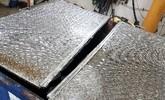 Reparatur von undichten oder verbogenen Containerdeckeln