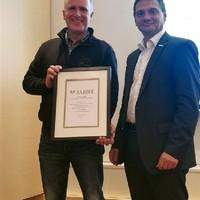 Auszeichnung 55 Jahre Partnerschaft mit Bosch