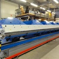 6m breit CNC gesteuerte hydraulische Abkantmaschine (1)