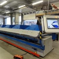 6m breit CNC gesteuerte hydraulische Abkantmaschine (2)