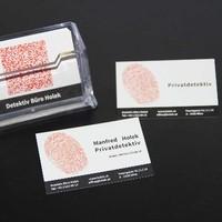 Visitenkarten mit QR-Code - Detektivbüro Holek  - www.holek.at