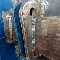 Schweißarbeiten an Containern