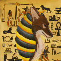 AcrylPrismaColor Anubis
