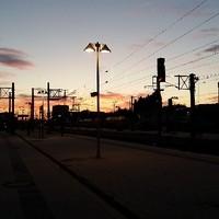 BahnsteigeMorgens