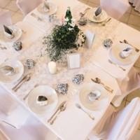 Tisch Hochzeit H&W