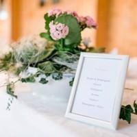 Tischkarte Hochzeit H&W