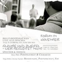 Einladung Forum November - Datum absichtlich unerkenntlich gemacht