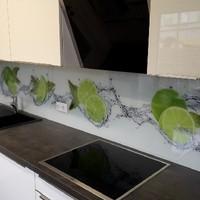 Küchenrückwand mit Digitaldruck (Folie) 1