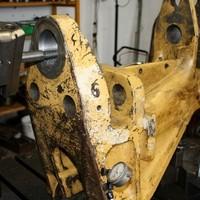 Caterpillar Schwenkbock Reparatur