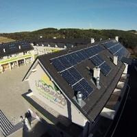 Photovoltaik Anlage Schrägdach