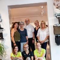Familie Iraneck und Team