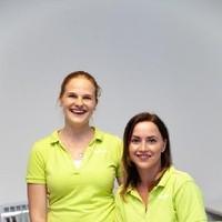 Stefanie Iraneck (links) und Nadja Schnitzer