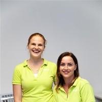 Stefanie Iraneck und Nadja Schnitzer (Kosmetik)