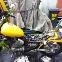 Yamaha Teilrestaurierung