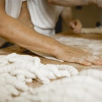 Backstube Herstellung Salzstangerl
