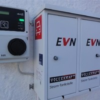 EVN Strom-Tankstelle Wallbox