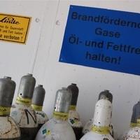 Brandfördernde Gase - Linde