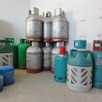 Gaslager - Flaga Propan und Butan