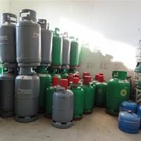 Gaslager - dopgas, BP Gas, CAMPINGGAZ - Propan und Butan