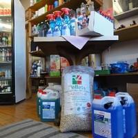 Shop - Pellets und Scheibenfrostschutz