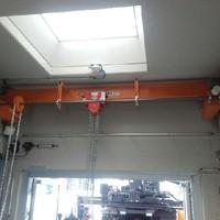 Gas Connect Krananlage