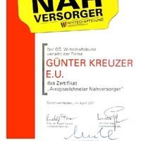 Zertifikat Ausgezeichneter Nahversorger