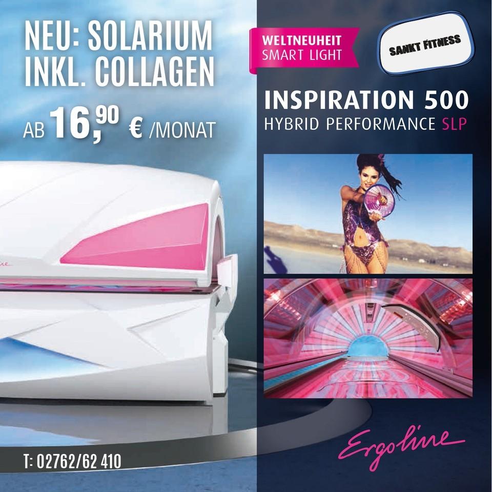 Weltneuheit: Smart Light. Inspiration 500 Hybrid Performance SLP Ergoline