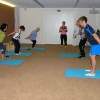 Rückentriathlon Training