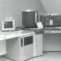 Einer der ersten Satzcomputer der Firma Berthold
