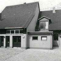 Das Druckereigebäude 1980