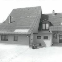 Das Druckereigebäude 1987