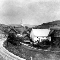 Knechtmühle von der Hofseite aus am 13.09.1935