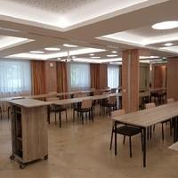 Seminar Räume 1 und 2 zum Vortrags Saal umgestaltet (1)