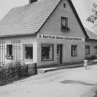 2 1935, nach dem Umbau mit Wohnhaus Weiß  und Schwarzbäckerei
