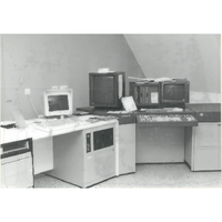 Einer der ersten Satzcomputer der Firma Berthold (ca. 1990)