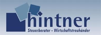 Hintner - Steuerberater - Wirtschaftstreuhänder