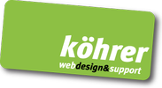 köhrer webdesign⊃port