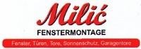 Milic Fenstermontage - Fenster, Türen, Tore, Sonnenschutz, Garagentore