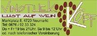 Vinothek Köpf - Lust auf Wein