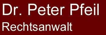 Dr. Peter Pfeil Rechtsanwalt