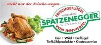 Frischgeflügel SPATZENEGGER, Wild, Geflügel, Tiefkühlprodukte, Festservice