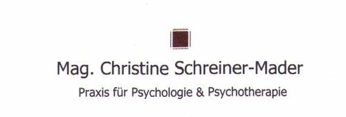 Praxis für Psychologie & Psychotherapie Mag. Christine Schreiner - Mader