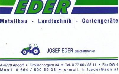 Eder - Metallbau - Landtechnik - Gartengeräte