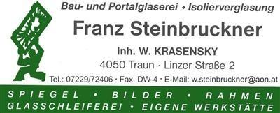 GLASEREI STEINBRUCKNER, Inhaber: Wilfried Krasensky